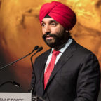Canada's Innovation Science and Economic Development Minister Navdeep Bains said the Canadian Space Agency will develop a radar instrument for a future orbiter mission to Mars. Credit: CSA