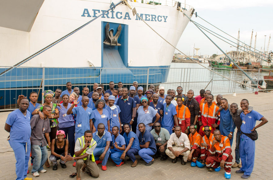 Africa Mercy. Credit: Mercy Ships