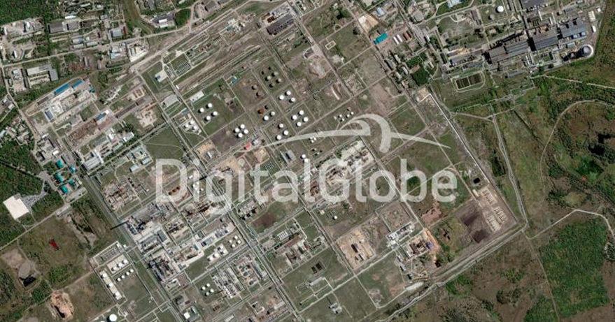 Syzran Oil Refinery. Credit: DigitalGlobe