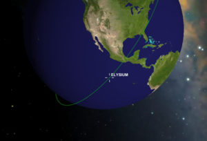 Elysium customers receive a smartphone application they can share with family and friends to track the cubesat, which is expected to remain in a sun-synchronous low-Earth orbit for about two years. Credit: Elysium