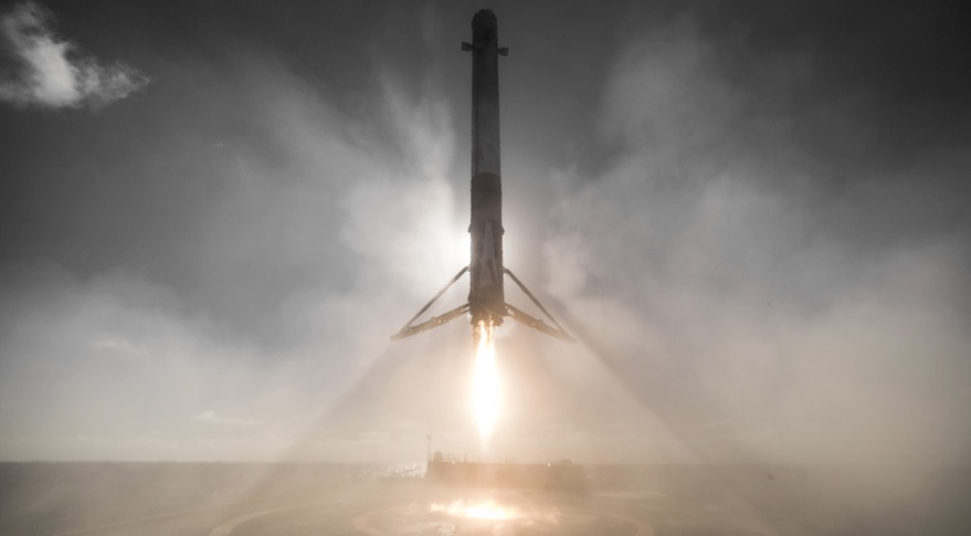 Falcon 9 Iridum-1 landing
