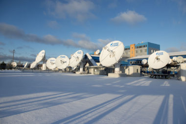 Gazprom GSS Teleport Russia