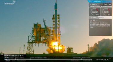 Falcon 9 Inamrsat launch