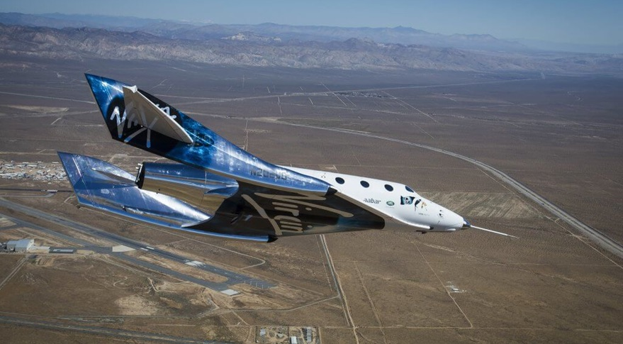 SpaceShipTwo tests feather system on latest glide flight ...