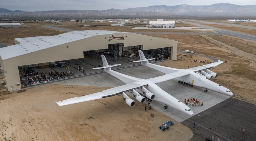 World's Biggest Aeroplane Stratolaunch Unveiled by Microsoft Co-founder Paul Allen