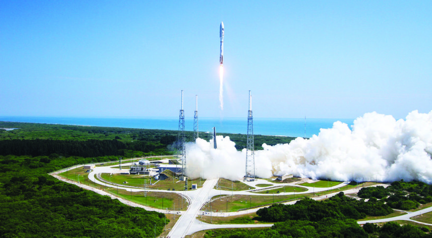An Atlas 5 rocket successfully launches the AFSPC-5 mission. Credit: U.S. Air Force