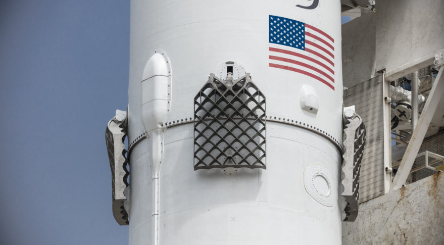 SpaceX Falcon 9 grid fins