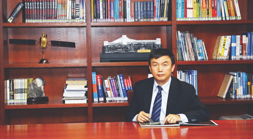 Fu Zhiheng, Executive Vice President, China Great Wall Industry Corp. Credit: CGWIC