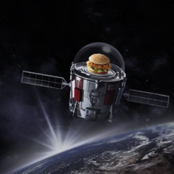 KFC robotic bucket satellite