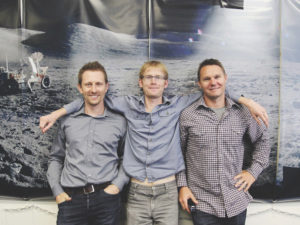 Chris Boshuizen, Will Marshall and Robbie Schingler cofounded Planet in 2010. Credit: Planet