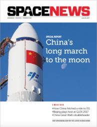 SpaceNews cover June 19, 2017