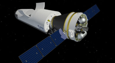 Space Rider aims to provide Europe with an affordable, independent, reusable end-to-end integrated space transportation system for routine access and return from low orbit. It will be used to transport payloads for an array of applications, orbit altitudes and inclinations. Credit: ESA