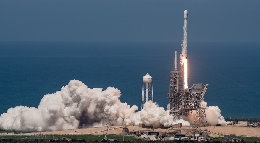 spacex falcon 9 bulgariasat 1 launch