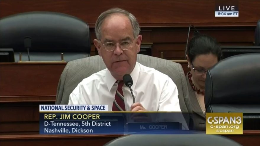 U.S. Rep. Jim Cooper (D-Tenn.) Credit: CSPAN video capture