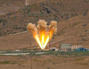 Orbital ATK successfully tested a motor used for the Orion spacecraft's abort system June 15, 2017. Credit: Orbital ATK