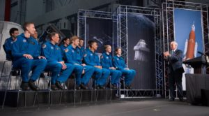 Pence astronauts