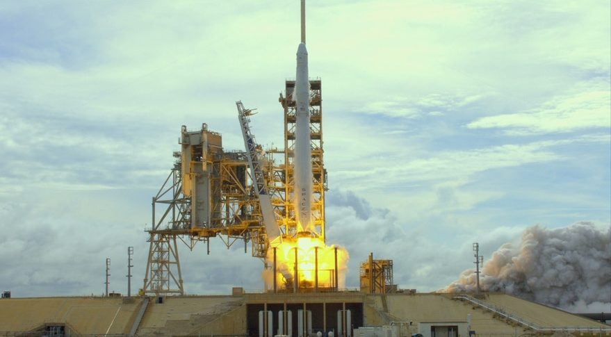 Falcon 9 SpX-11 launch