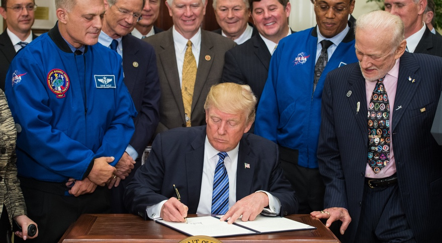 Trump NSC signing
