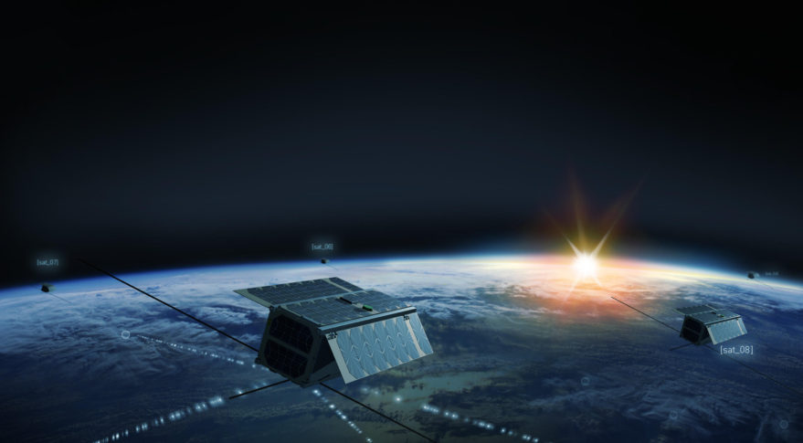 Else plans to use a constellation of cubesats for global machine-to-machine connectivity. Credit: Else
