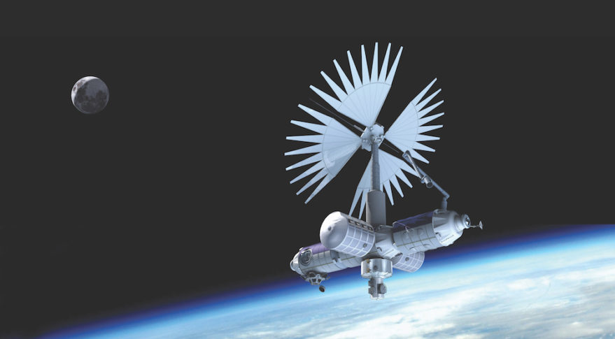 Axiom Space plans to build its privately funded commercial space station by 2024. Credit: Axiom Space