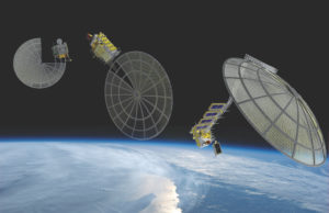 Made In Space is working with Northrop Grumman and Oceaneering space Systems as subcontractors to develop the Archinaut in-space manufacturing capabilities. Credit: Made In Space