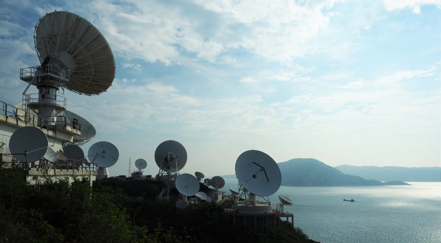 AsiaSat's Stanley Earth station