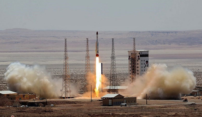 USA  sanctions Iran after space launch