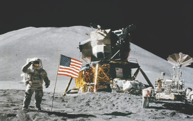President Trump's call for NASA to return humans to the moon comes 45 years after the final Apollo mission landed on the lunar surface. Credit: NASA