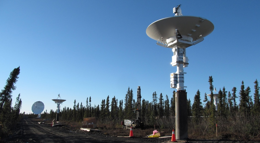 Inuvik ground station