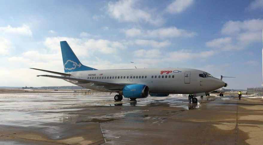 Gogo 737 Test Aircraft