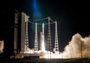Vega completed its 10th launch since debuting in 2012, bucking the failures and hiccups that often snag new launch vehicles. Credit: Arianespace