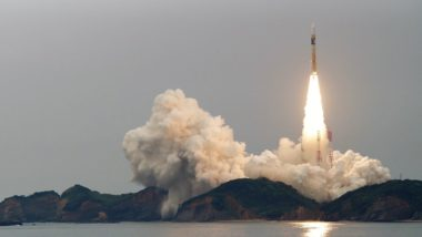 JAXA's second Michibiki satellite was launched on June 1, 2017. The third will be launched this Friday, August 11. Credit: @shinnosuke0113 via Twitter