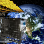 DLR's Earth Sensing Imaging Spectrometer will be the first payload tested on the Multi-User System for Earth Sensing (MUSES), Teledyne Brown's external Earth-facing platform that traveled to the space station in June inside a SpaceX Dragon cargo capsule. Credit: Teledyne Brown artist's concept.