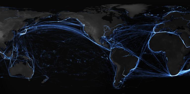 Ship-Traffic-Pacific Spire