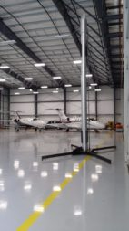 CloudIX hangar in Hayward, California. Credit: CloudIX