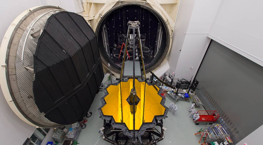 JWST thermal vacuum chamber