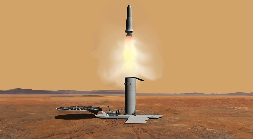 Mars ascent vehicle
