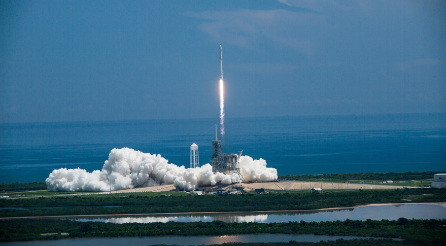 Falcon 9 CRS 12 Launch