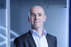 """""""There's been a big demand for us to operate our satellites as well as manufacture them,"""" said Craig Clark, Clyde Space founder and chief executive. Credit: Clyde Space"""