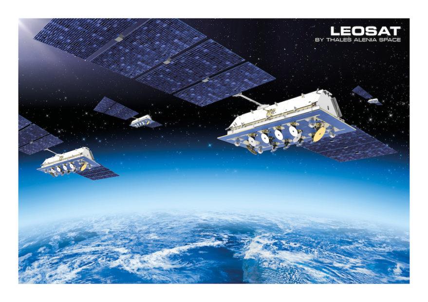 LeoSat Enterprises is raising money to establish a constellation of 78 to 108 Ka-band communications satellites based on Thales Alenia Space's EliteBus. Credit: LeoSat Enterprises