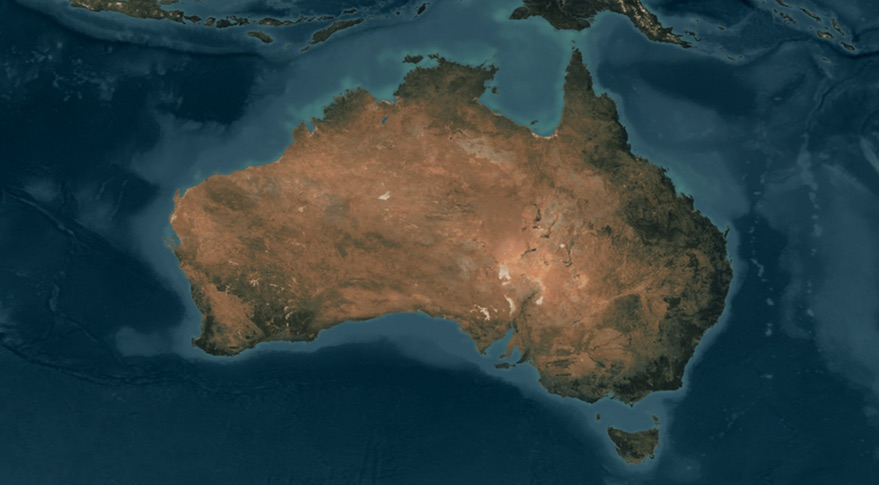 Map Of Australia From Space.Australia To Establish National Space Agency Spacenews Com