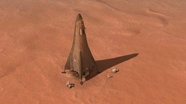 Mars Base Camp lander