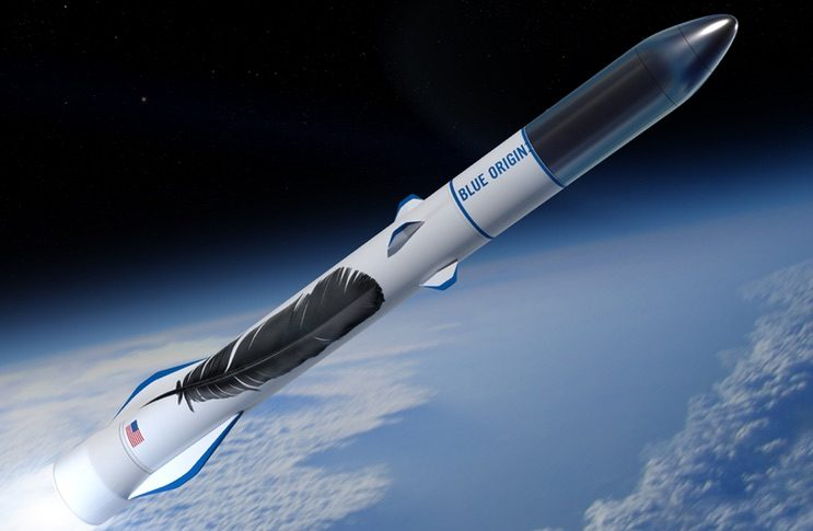 Blue Origin selected as launch provider for satellite startup mu Space