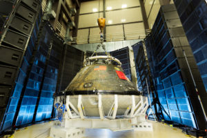 Orion exploration flight test 1 test (Lockheed Martin photo)