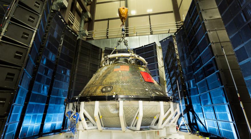 Orion exploration flight test 1 test (Lockheed Martin photo)