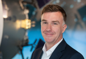 Oliver Juckenhöfel, head of Airbus Defence and Space's  Bremen, Germany space site. Credit: Airbus