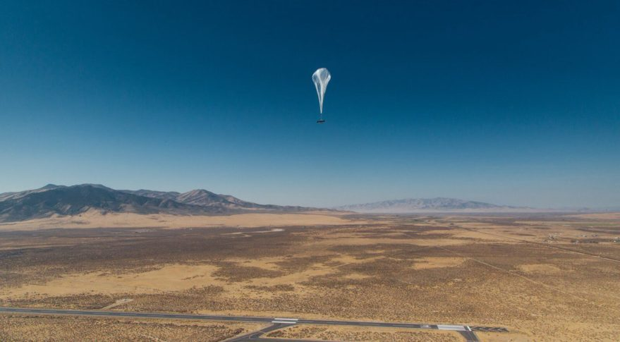 Alphabet is sending 'internet balloons' to Puerto Rico