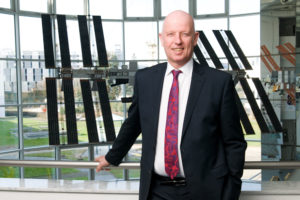 """""""In Germany, we don't have enough young people who want to run their own business,"""" said Gerd Gruppe, member of DLR's executive board. """"We have an overall lack of high-tech companies and so it is in the space sector as well."""" Credit: DLR"""