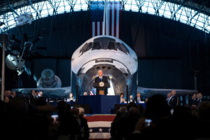 regulatory reform to be a topic of next national space council meeting