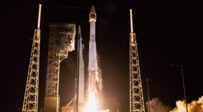 SBIRS GEO Flight 3 launched from Cape Canaveral Air Force Station, Florida, on Jan. 20 (Lockheed Martin photo)